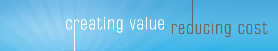 Creating Value Reducing Costs